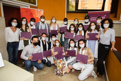 Diplômés UPSaclay Master SDV 2021 - 1