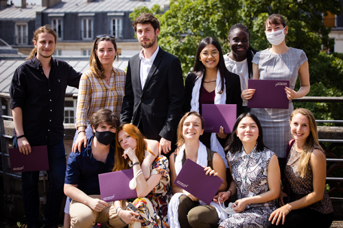 Diplômés UPSaclay Master SDV 2021 - 2